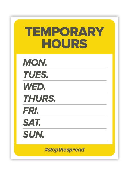 Temp Hours