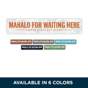 6colors STRIPS mahalo